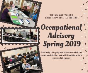 Spring 2019 Occupational Advisory