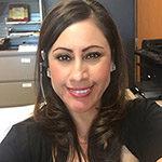 Carmen Arizaga, Registration Clerk