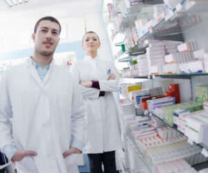 Pharmacy workers