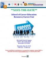 save the date career fair