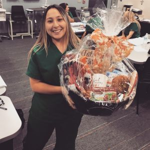 Fall Raffle Basket Winner - Kimberly Gomez