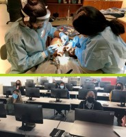 Dental Assistant students and MCAP NCCT Testing